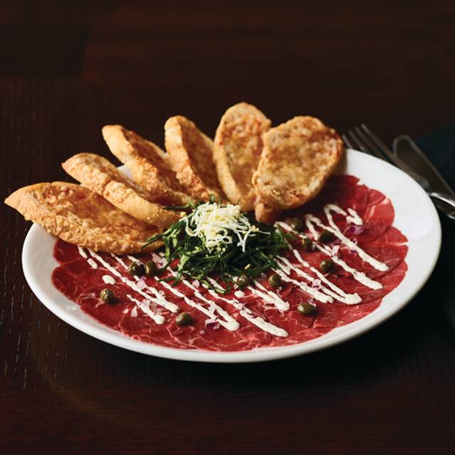 Tenderloin Carpaccio - Fleming's Steakhouse - La Jolla, San Diego, CA
