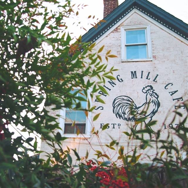 Spring Mill Cafe, Conshohocken, PA