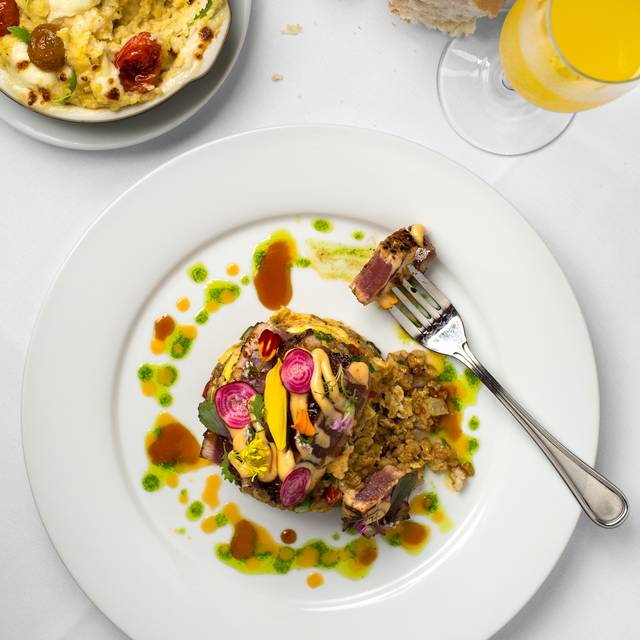 Seared Yellowfin Tuna With Creole Fried Rice - ANNUNCIATION, New Orleans, LA