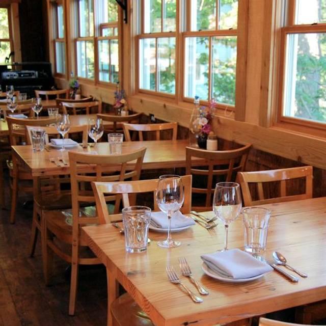 Doe Bay Cafe Seating - Doe Bay Cafe, Olga, WA