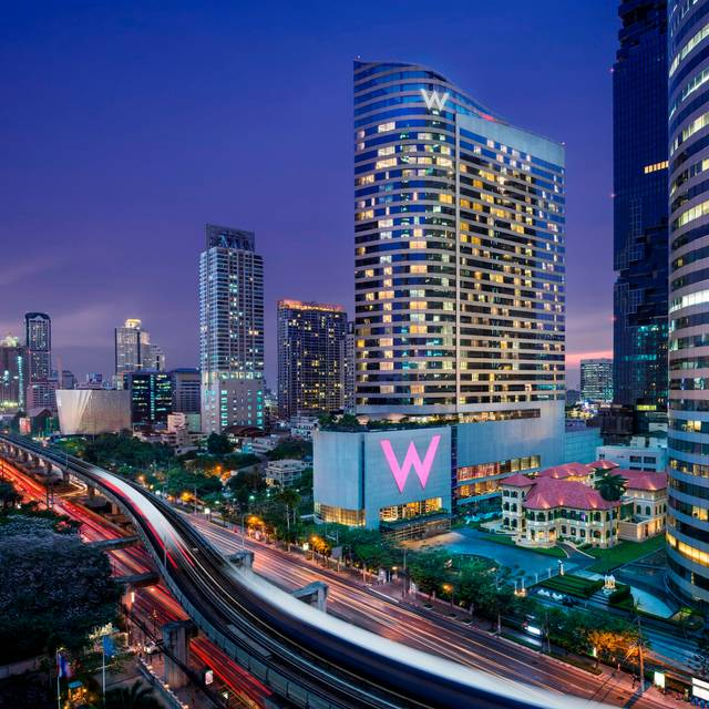 W Bangkok's Exterior  - The Courtyard at The House on Sathorn, Bang Rak, Bangkok