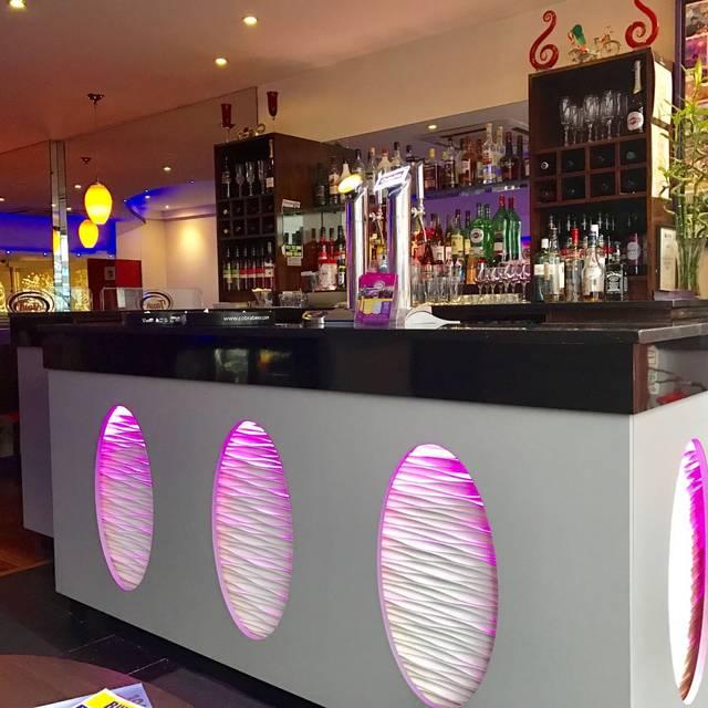 Ash Bar Area Contemporary Indian Restaurant Birmingham West Midlands