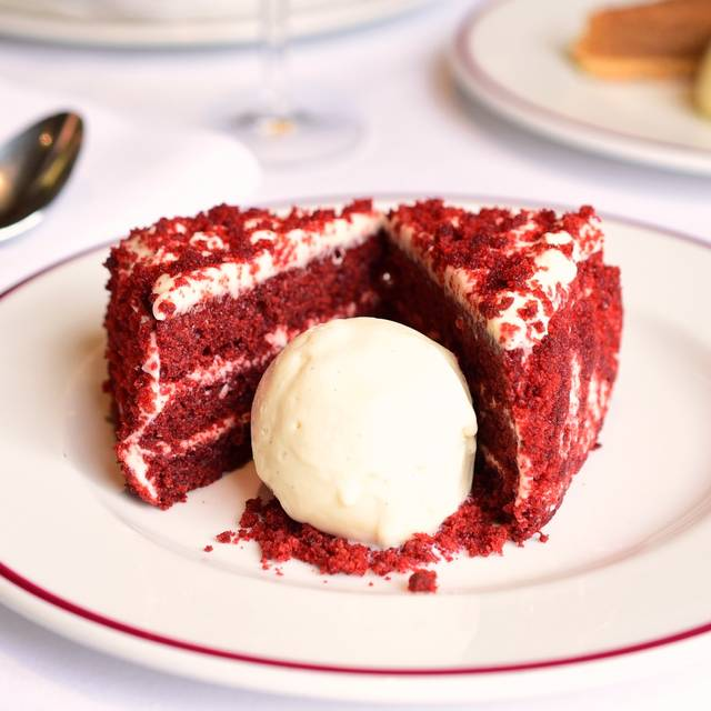 Red Velvet Cake - PJ's Bar and Grill in Chelsea, London