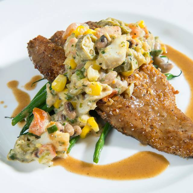 Pecan Crusted Trout  - The Manor House, Houston, TX