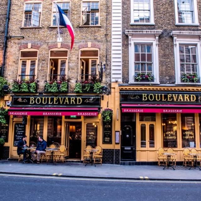 Boulevard Brasserie, London