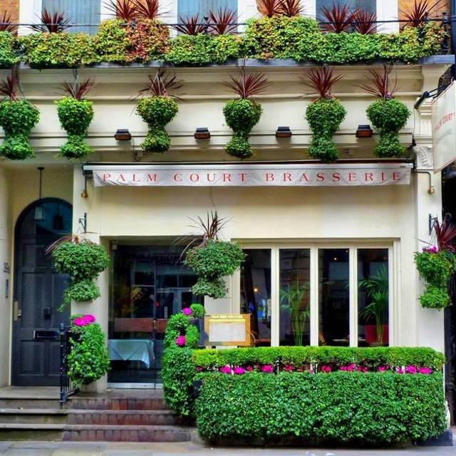 Palm court brasserie restaurant london opentable for Cafe du jardin covent garden