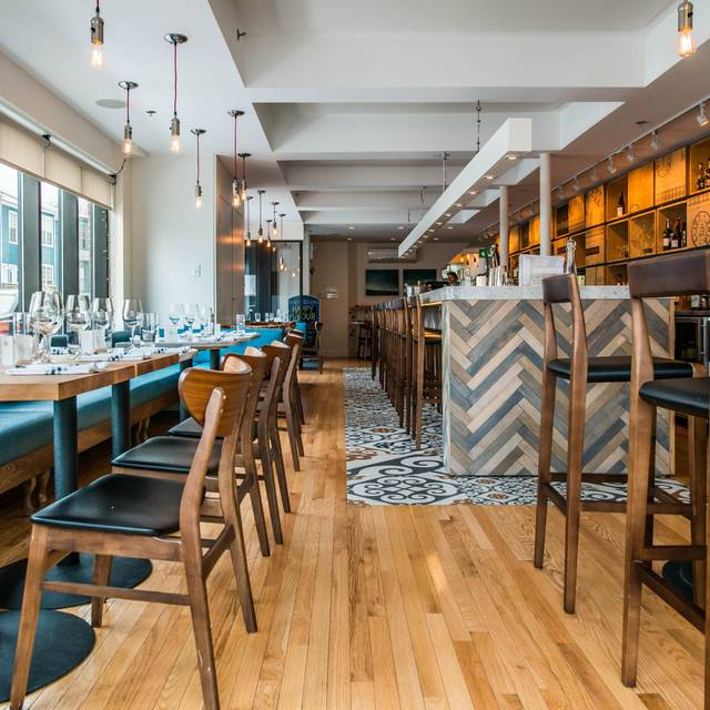 4 different seating areas to reserve in advance! - Eliot & Vine, Halifax, NS