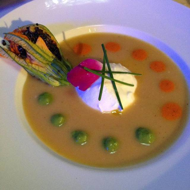 Fava Bean Soup - Thalassa, New York, NY