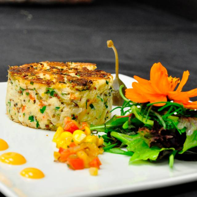 Jumbo Lump Crab Cake - Beach House, Seven Mile Beach, Grand Cayman