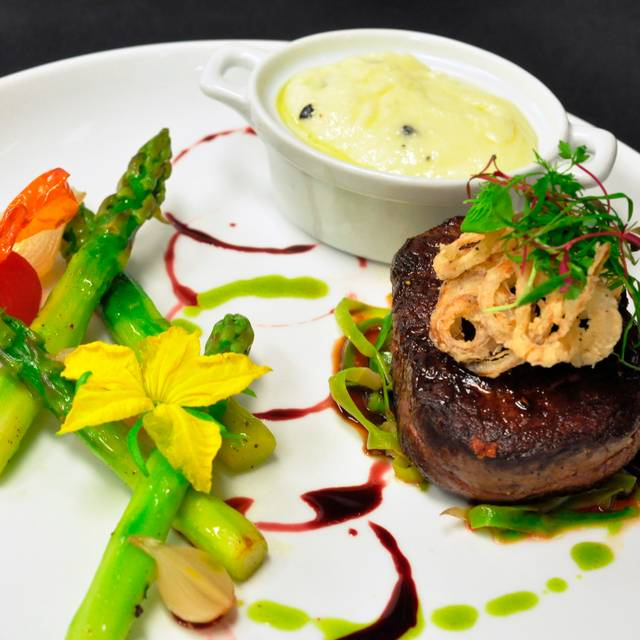 Beef Tenderloin With Truffle Potato Puree - Beach House, Seven Mile Beach, Grand Cayman