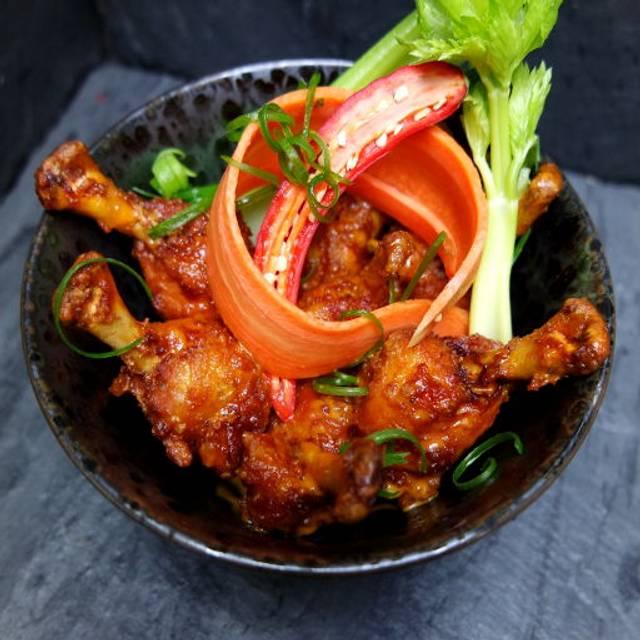 Honey Sriracha Wings - American Cut Steakhouse, Atlanta, GA