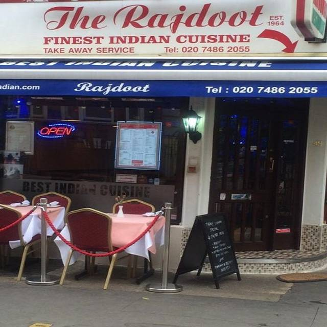The Rajdoot Indian Restaurant, London