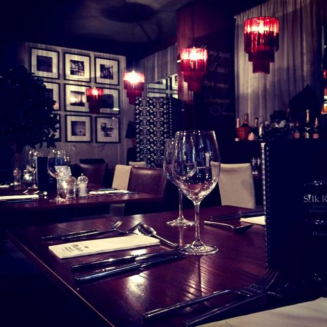Silk Room Restaurant & Champagne Bar, Newcastle upon Tyne, Tyne and Wear