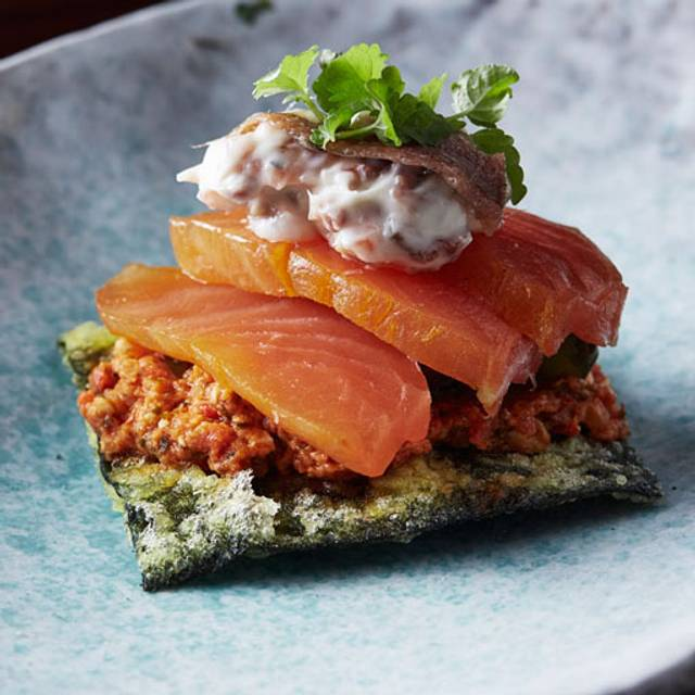 Cured salmon - Burma Lane, Melbourne, AU-VIC
