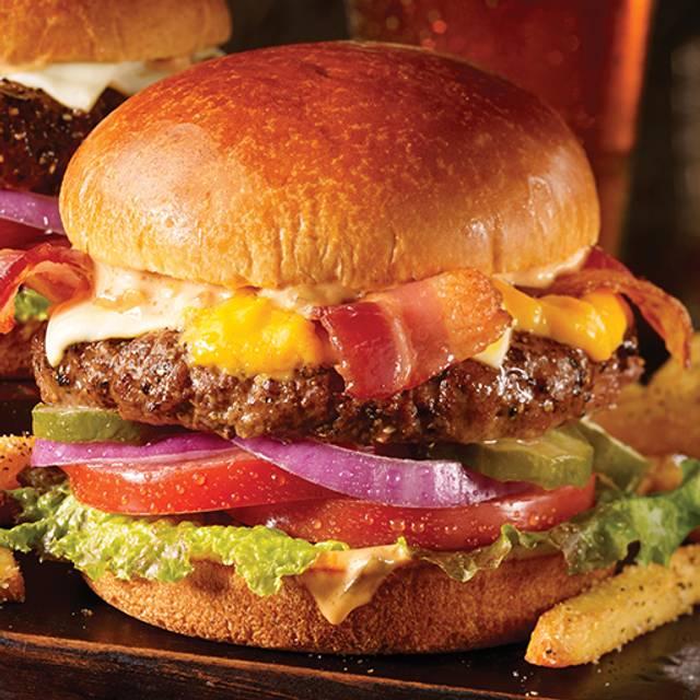 Bacon Cheeseburger - TGI FRIDAYS - DFW Airport E-17, Dallas, TX