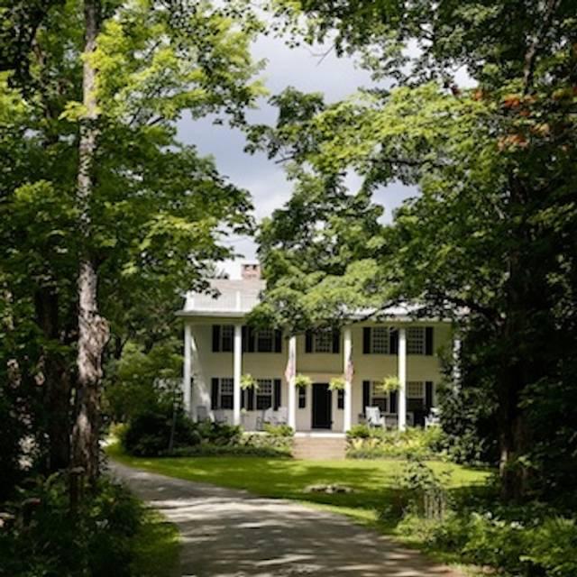 The Inn at Weathersfield Restaurant - Perkinsville, VT | OpenTable