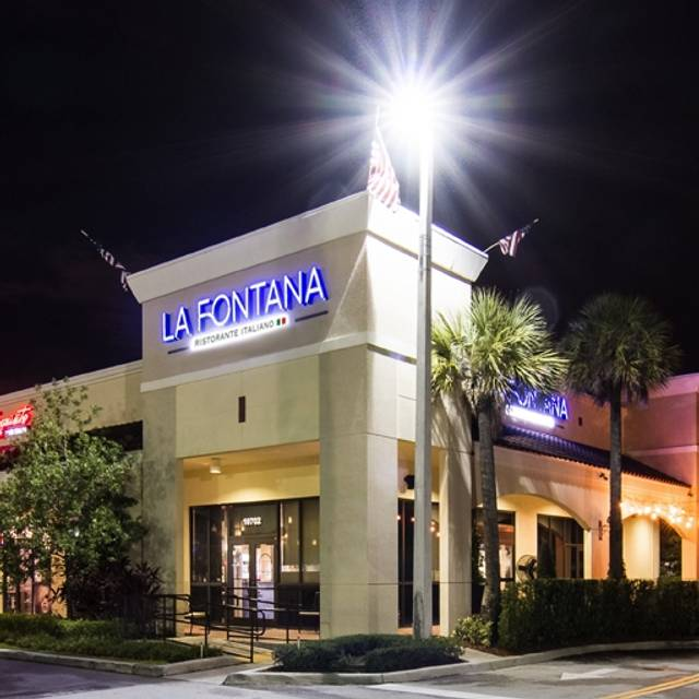 Fresh Meals Delivered >> La Fontana Ristorante- Doral Restaurant - Miami, FL | OpenTable