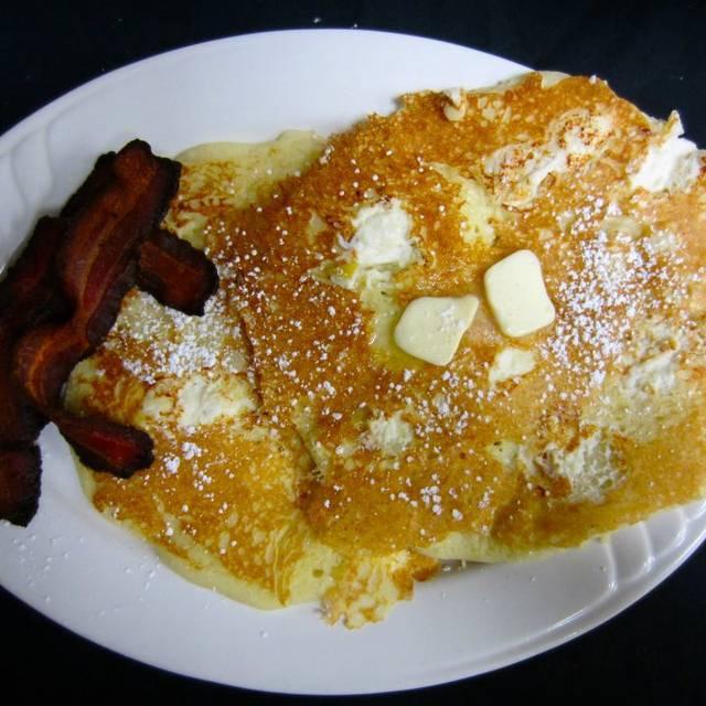 Lemon Ricotta Cakes With Jalapeno Bacon - Soul Cafe, Scottsdale, AZ
