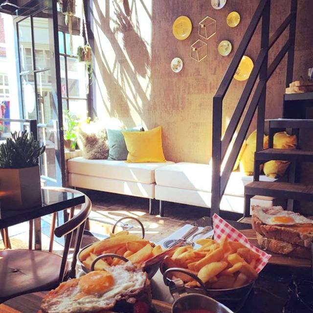 Restaurant Bleu, Amsterdam, Noord-Holland