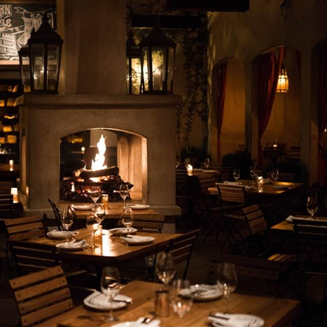 Firefly Restaurant Studio City Menu