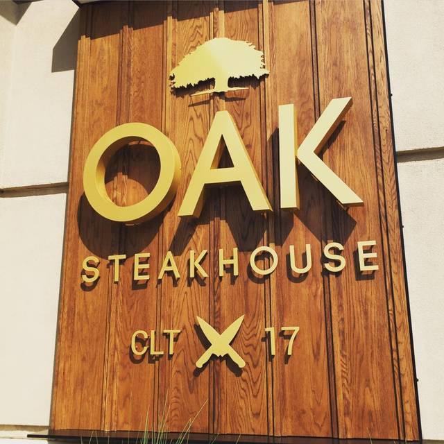 Oak Steakhouse - Charlotte, Charlotte, NC