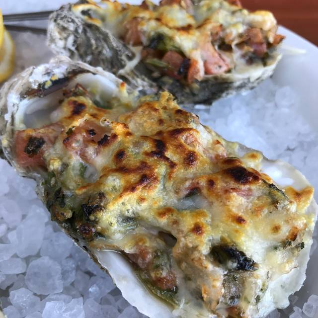 Barbecue Oysters - Beaver's - Westheimer, Houston, TX
