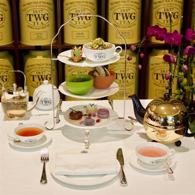 TWG Tea Salon & Boutique, Vancouver, BC