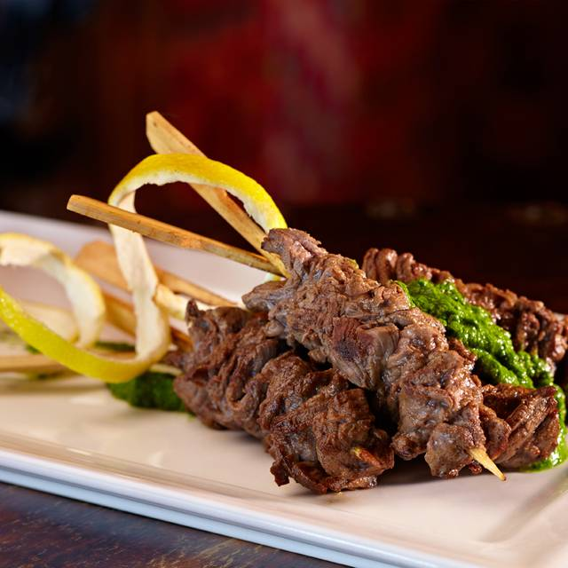 Skirt steak skewers - Foundation Room House of Blues Las Vegas, Las Vegas, NV