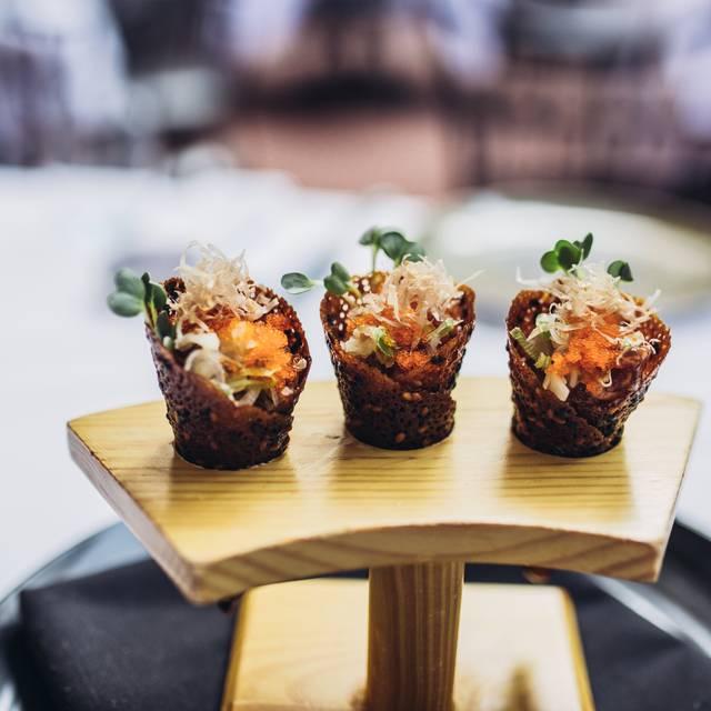 Tuna Cones  Spago Bh Antonio Diaz - Spago - Beverly Hills, Beverly Hills, CA