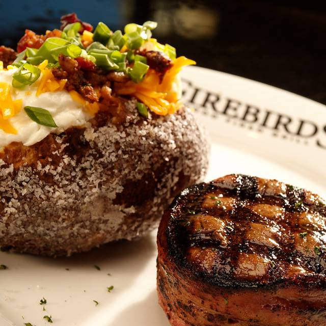 Filet Mignon - Firebirds Wood Fired Grill - St. Charles, St. Charles, MO