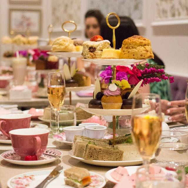 High Tea & Pink Champagne - The Tea Salon Sydney, Sydney, AU-NSW
