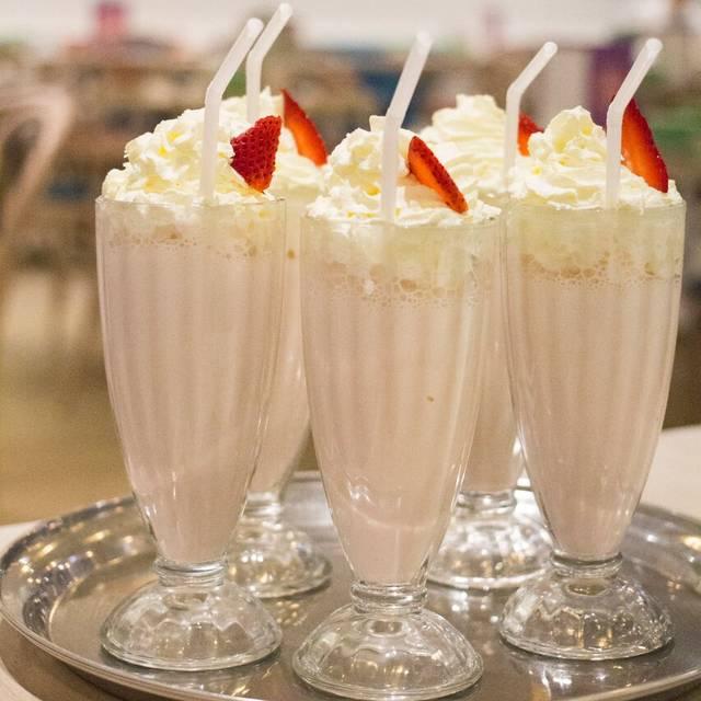 Strawberry Milkshakes - The Tea Salon Sydney, Sydney, AU-NSW