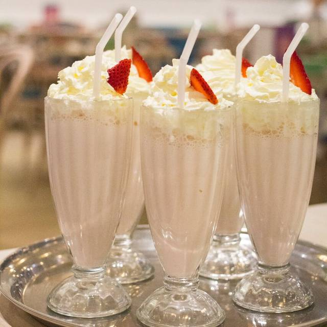 Strawberry Milkshakes - The Tea Salon Melbourne, Melbourne, AU-VIC