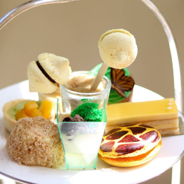 Afternoon Tea at The Montague on the gardens, London