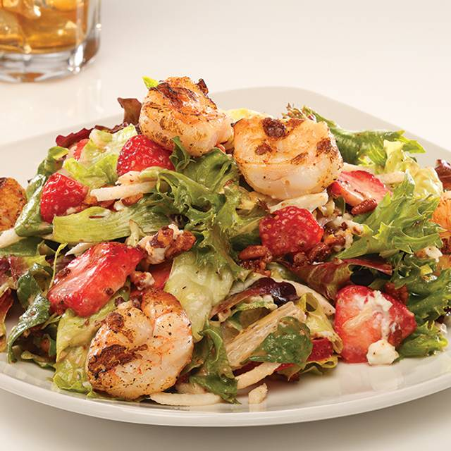 Grilled Shrimp & Strawberry Salad - Firebirds Wood Fired Grill - Cranberry, Cranberry Township, PA