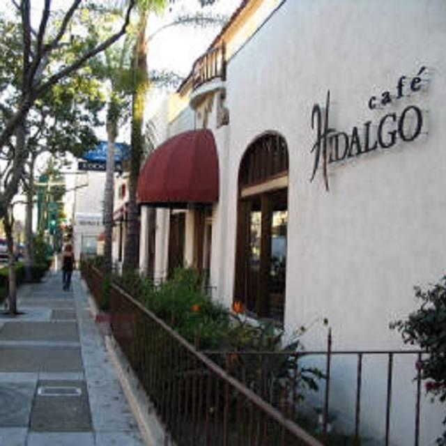 Cafe Hidalgo Happy Hour Menu
