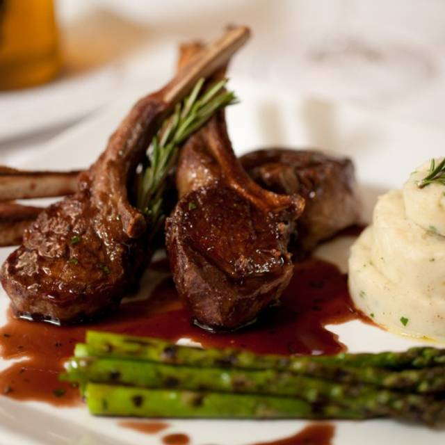 Lamb Chops - Zingari Ristorante + Jazz Bar, San Francisco, CA