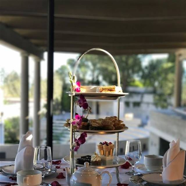 Tea by the Sea at The Getty Villa, Pacific Palisades, CA