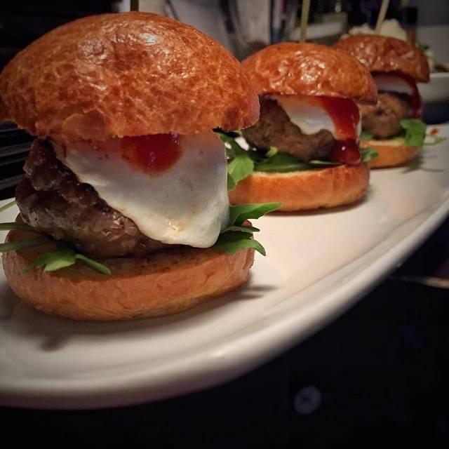 Turkey Burger Sliders - Manhattan Proper, New York, NY