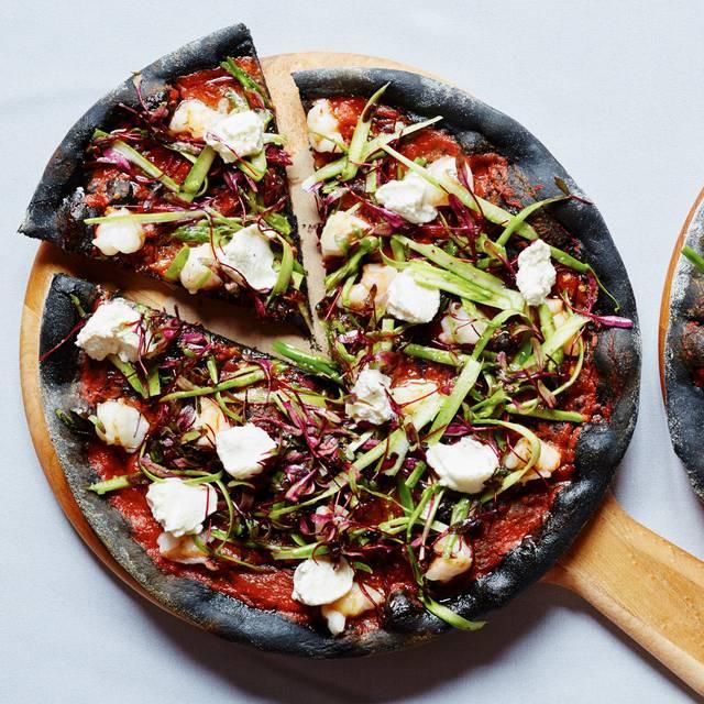 Black Rock Shrimp Pizza - Asellina Ristorante, New York, NY