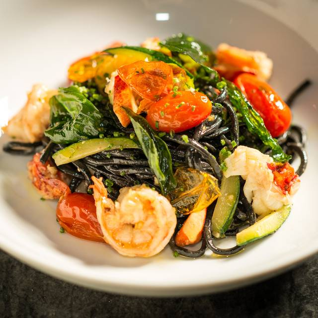 Squid Ink Linguini - Asellina Ristorante, New York, NY
