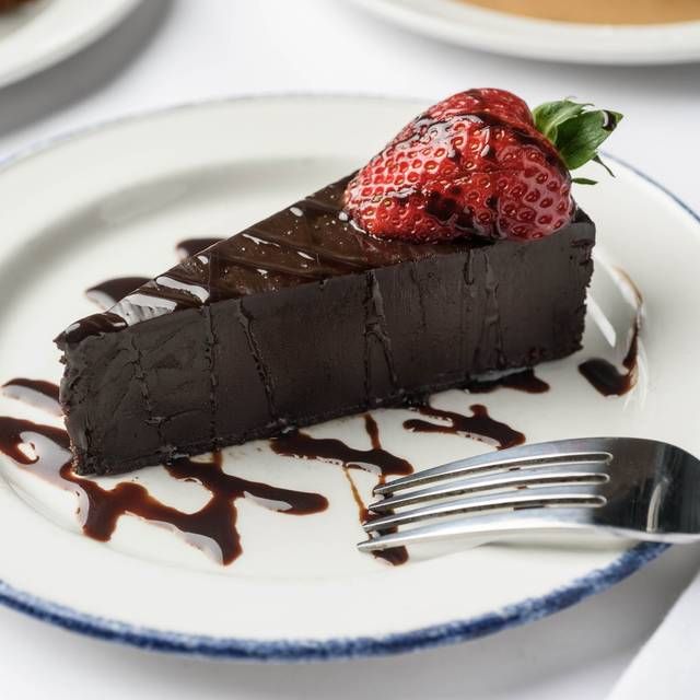 Flourless Chocolate Cake - Ye Olde College Inn, New Orleans, LA