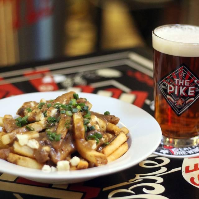 Poutine & Pike Place Ale  - The Pike Pub, Seattle, WA