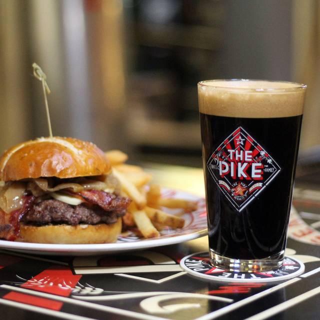Bison Burger & Stout  - The Pike Pub, Seattle, WA