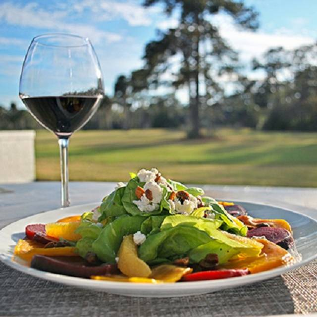Roasted Beet Goat Cheese Salad - 3 Palms Grille, Ponte Vedra Beach, FL