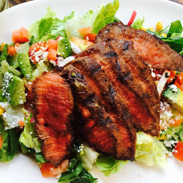 Steak Salad - Agave Cocina & Cantina-Kent Station, Kent, WA