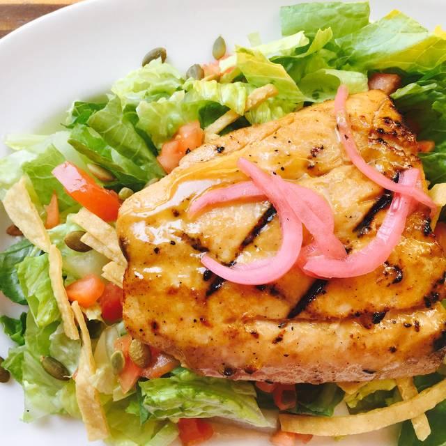 Salmon Salad - Agave Cocina & Cantina-Kent Station, Kent, WA