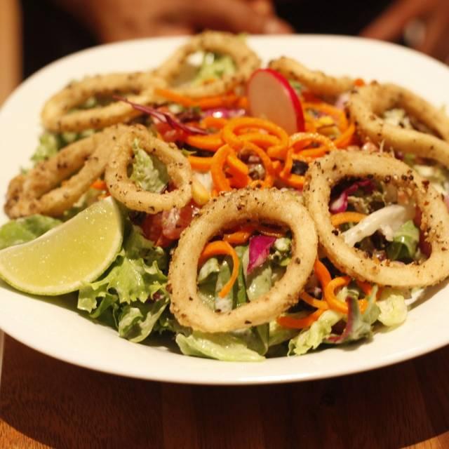 Calamari Salad - Tequila Mexican Restaurant - South Yarra, South Yarra, AU-VIC
