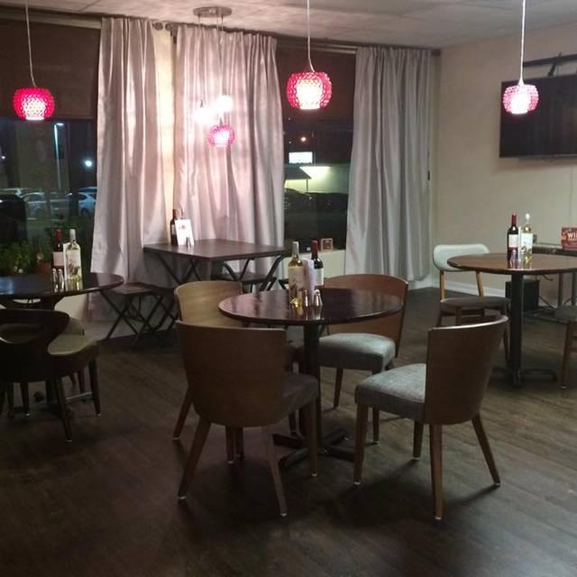 Our Restaurant Night View Inside - 7 & 7 Coffee & Wine House, Ocala, FL