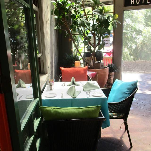 The Panama Hotel Restaurant, San Rafael, CA